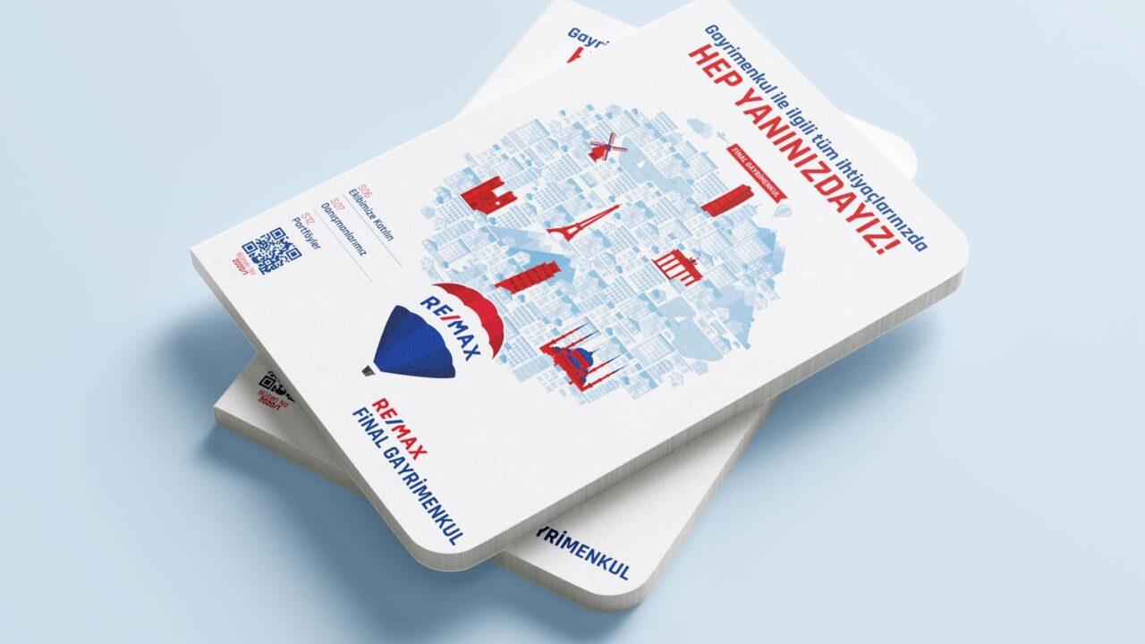 Remax Final Gayrimenkul Aylık Magazin Dergi Tasarımı