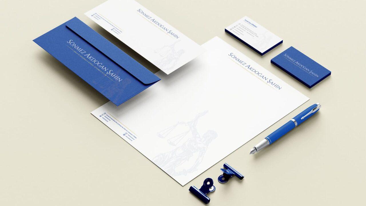 SAS Hukuk Bürosu Kurumsal Kimlik Tasarımı