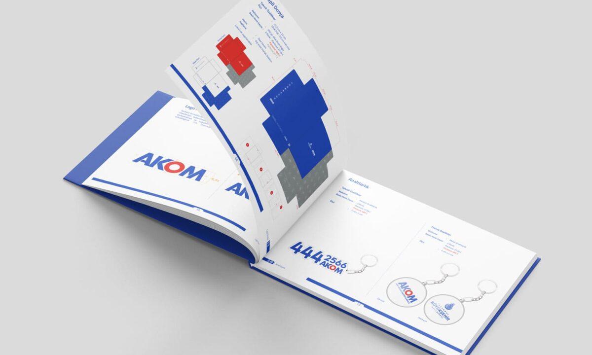 akom-afet-koordinasyon-merkezi-kurumsal-kimlik-çalışması-tasarımı-artebir