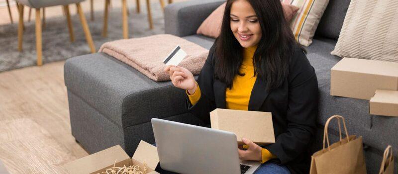 Online alışverişin geleneksel alışverişe göre avantajları - fotoğraf © freepik
